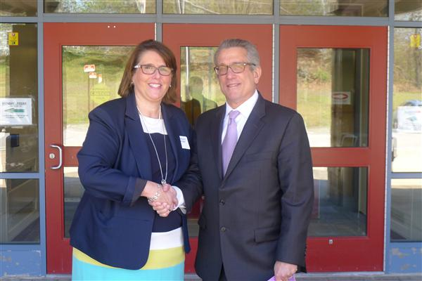 MA Commissioner of Education Visits, Honors, Masco Middle School