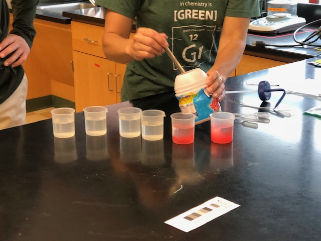 Masco Science Teachers Engaged with Green Chemistry