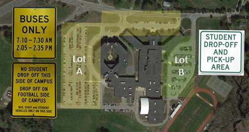 Parking Lot Map